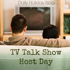 TV Talk Show Host Day