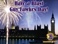Have a blast Guy Fawkes Day
