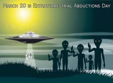March 20 is Extraterrestrial Abductions Day