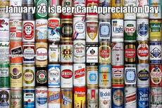 January 24 is Beer Can Appreciation Day