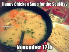 Happy Chicken Soup for the Soul Day November 12th