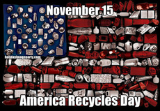 November 15 America Recycles Day