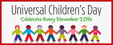 Universal Children's Day  Celebrate Every November 20th