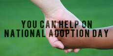 You can help on National Adoption Day