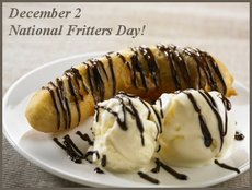 December 2 National Fritters Day