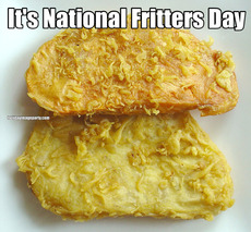 It's National Fritters Day