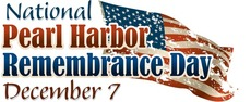 National Pearl Harbor Remembrance Day December 7