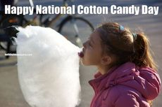 Happy National Cotton Candy Day