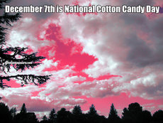 December 7th is National Cotton Candy Day