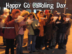 Happy Go Caroling Day