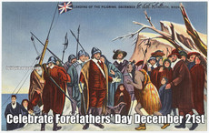 Celebrate Forefathers' Day December 21st