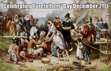 Celebrating Forefathers' Day December 21st