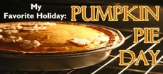 Pumpkin Pie Day