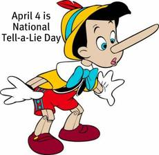 April 4 is National Tell a Lie Day