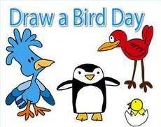 Draw a bird day