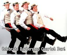 Celebrate Barbershop Quartet Day!