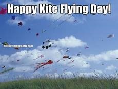 Happy Kite Flying Day!