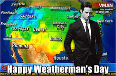 Happy Weatherman's Day