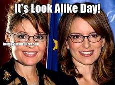 It's Look Alike Day!
