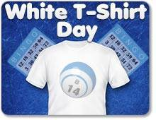 White T-Shirt Day