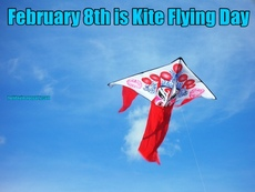 February 8th is Kite Flying Day