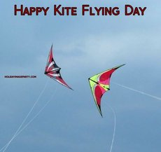 Happy Kite Flying Day