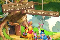 Jump for joy! Easter time is here!