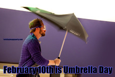 February 10th is Umbrella Day