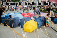February 10 th is Umbrella Day