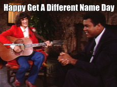 Happy Get A Different Name Day