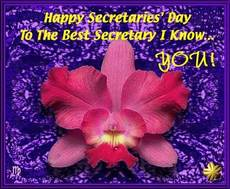 Happy Secretaries Day to the best secretary I know