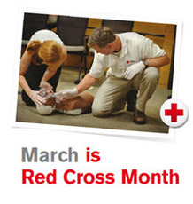 March is Red Cross Month