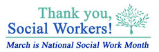 March is National Social Workers Month