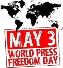 May 3 World Press Freedom Day