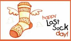 Happy Lost Sock Day!