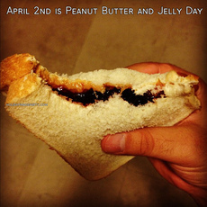 April 2nd is Peanut Butter and Jelly Day