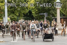 April 3rd is Tweed Day