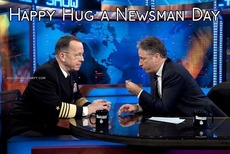 Happy Hug a Newsman Day