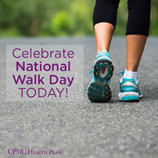 Celebrate National Walk Day Today