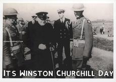 It's Winston Churchill Day