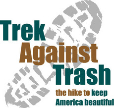 Trek against trash the hike to keep America beautiful