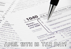 April 15th is Tax Day!