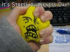 It's Stress Awareness Day!