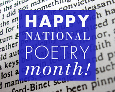 Happy National Poetry Month