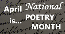 Apri is National Poetry Month
