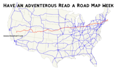 Have an adventerous Read a Road Map Week