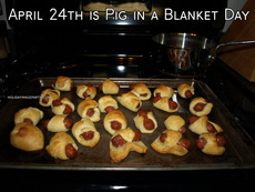 April 24th is Pig in a Blanket Day