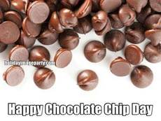 Happy Chocolate Chip Day