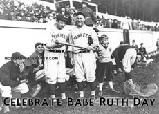 Celebrate Babe Ruth Day