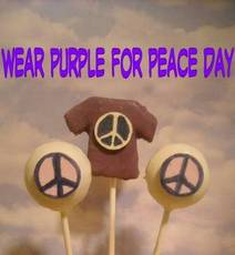 Wear Purple For Peace Day